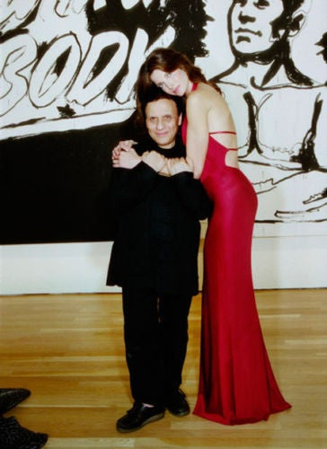 1991 AZZEDINE ALAIA jet black backless halter gown 6