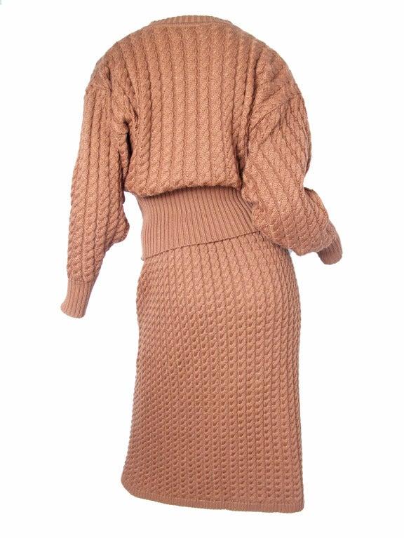 Sweater Knit Skirt 60
