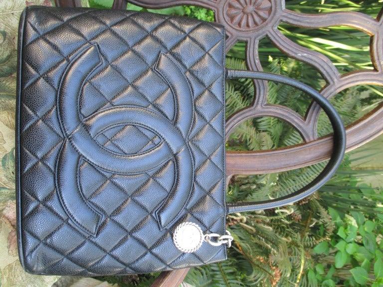 Chanel Bag Lambskin or Caviar Bag Chanel Black Caviar