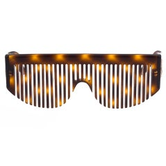 Chanel Comb Sunglasses