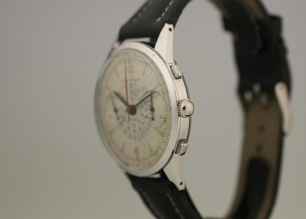 Girard-Perregaux Stainless Steel Chronograph Wristwatch  2
