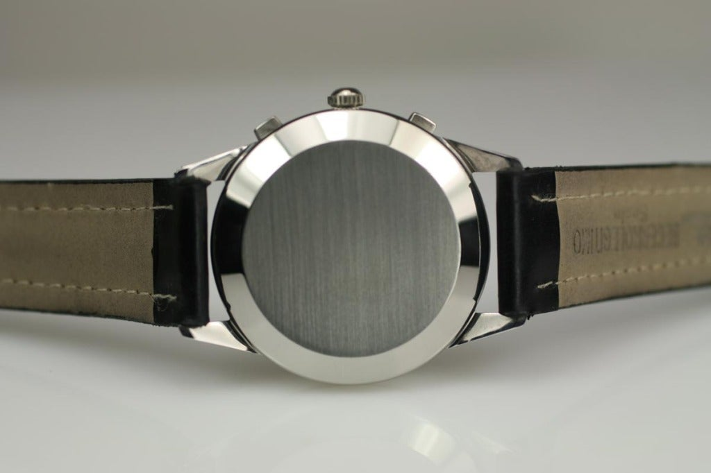 Girard-Perregaux Stainless Steel Chronograph Wristwatch  4