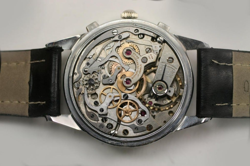 Girard-Perregaux Stainless Steel Chronograph Wristwatch  5