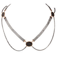 Captivating Berlin Iron Mesh Necklace