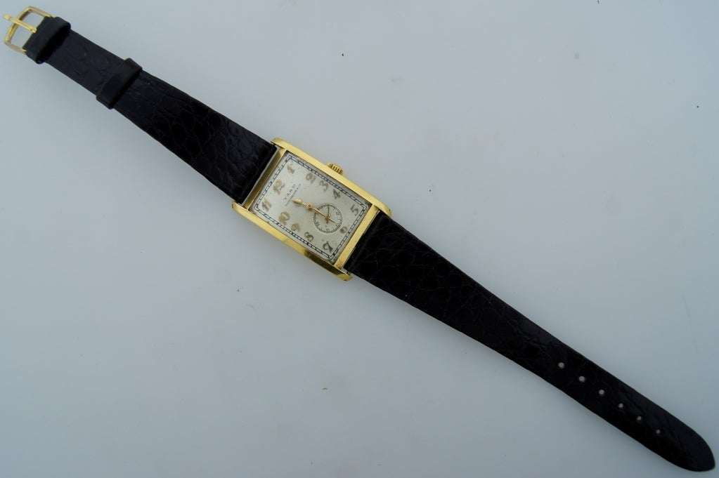Patek Philippe Retailed by Yard Yellow Gold manual Wristwatch , circa 1930s For Sale 5
