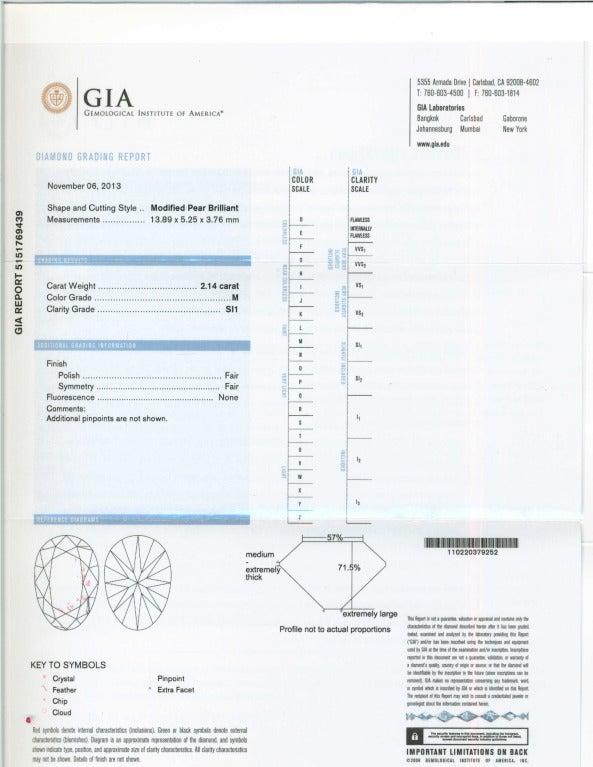 Cartier Paris GIA Certified 7.89 Carat Diamond Platinum Dangle Earrings 8
