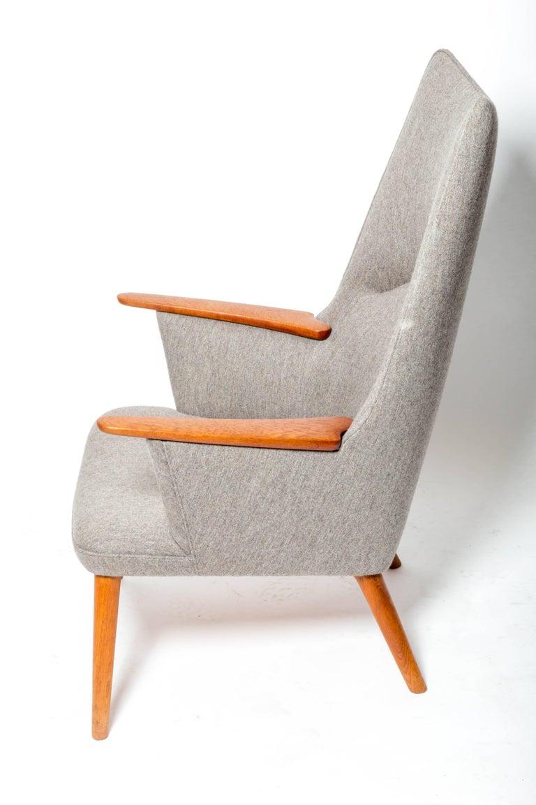 "Danish ""AP-27"" Lounge Chair, by Hans J. Wegner For Sale"