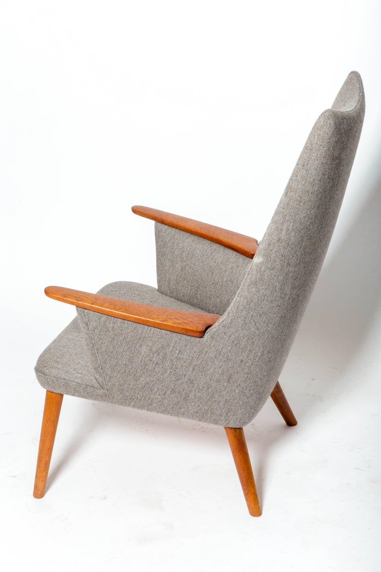 """Mid-20th Century """"AP-27"""" Lounge Chair, by Hans J. Wegner For Sale"""