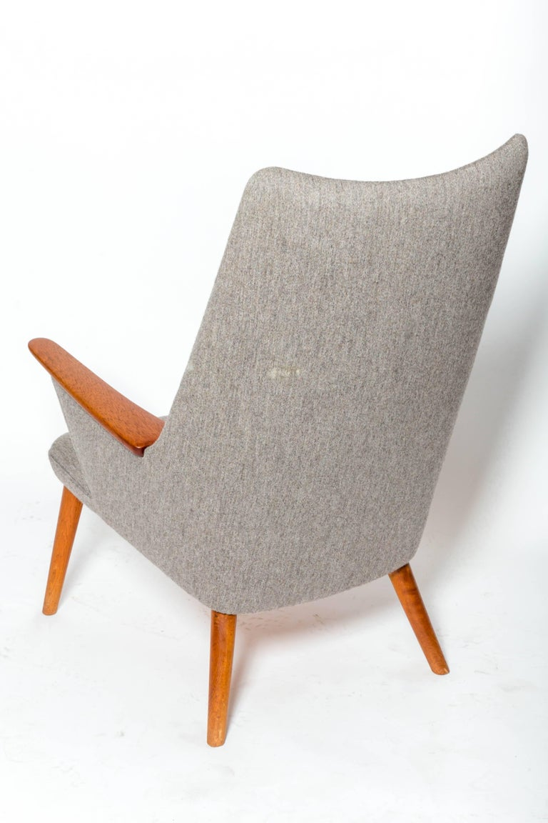 "Teak ""AP-27"" Lounge Chair, by Hans J. Wegner For Sale"