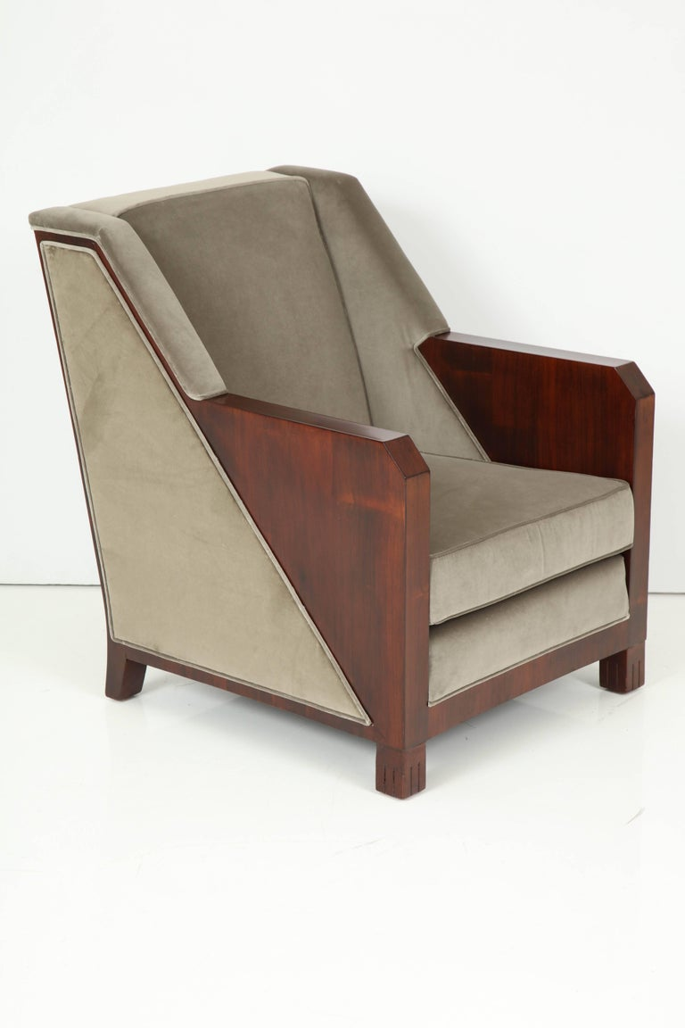 Maison Dominique Armchairs In Good Condition For Sale In New York, NY