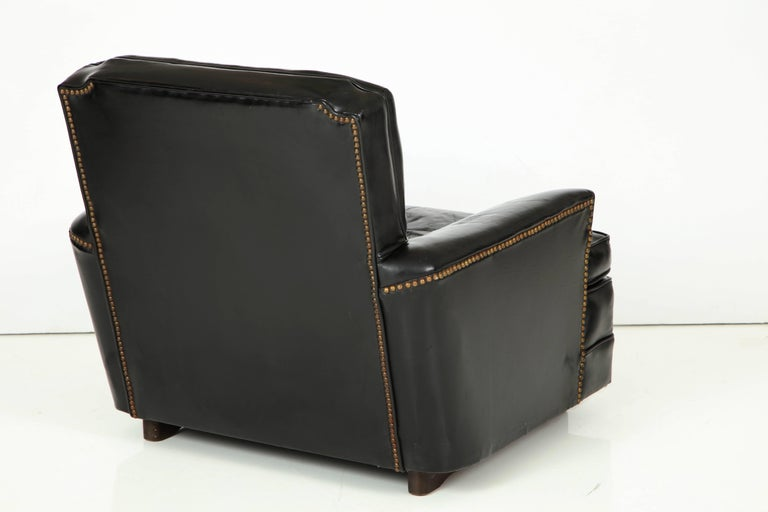 Pair of Club Chairs Attributed to Sam Marx For Sale 1
