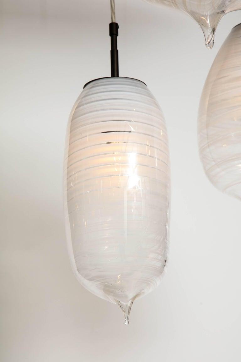 Moshe Bursuker Thought Bubbles Glass Chandelier, 2018 For Sale 2