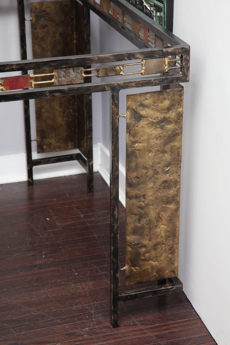 20th Century Vintage Brutalist Table Base by Silas Seandel For Sale