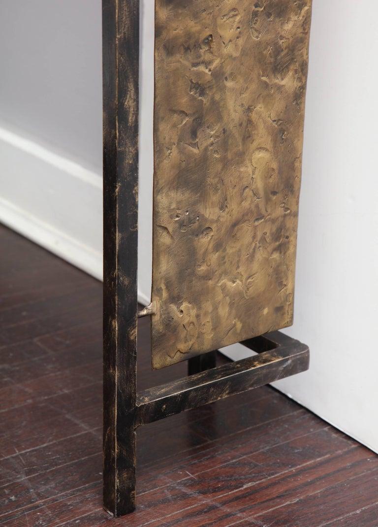 Vintage Brutalist Table Base by Silas Seandel For Sale 1