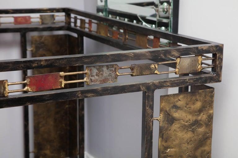 Vintage Brutalist Table Base by Silas Seandel For Sale 3