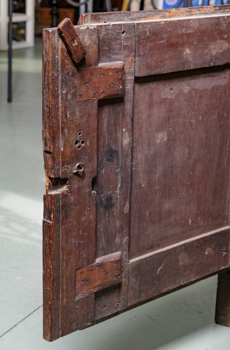 19th Century French Raised Panel Two-Door Cabinet For Sale 1