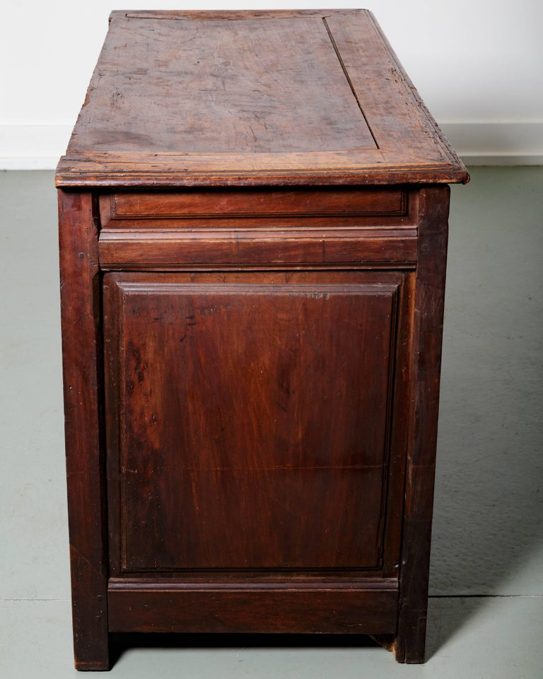 19th Century French Raised Panel Two-Door Cabinet For Sale 4