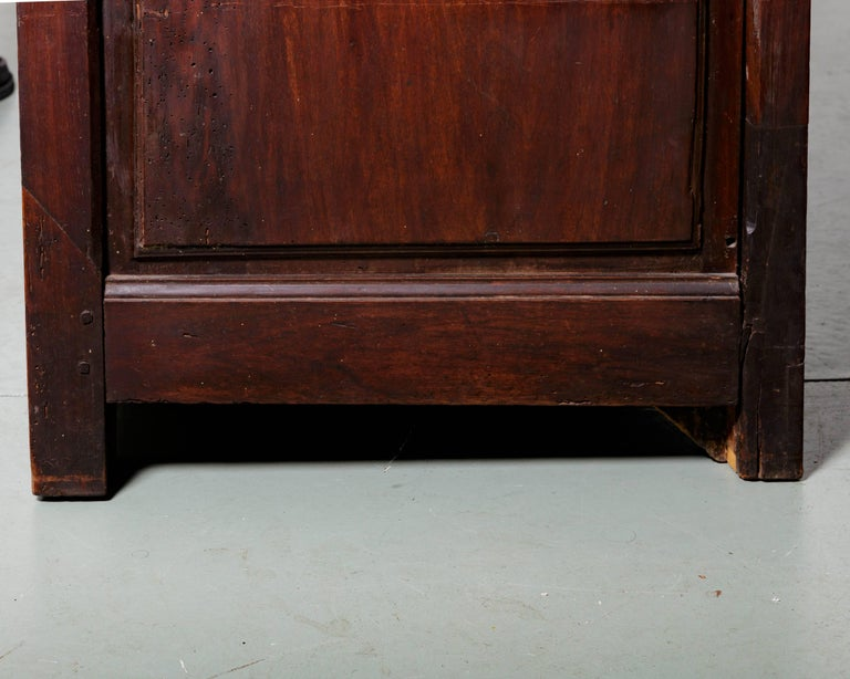 19th Century French Raised Panel Two-Door Cabinet For Sale 5