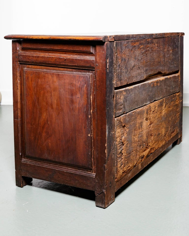 19th Century French Raised Panel Two-Door Cabinet For Sale 6