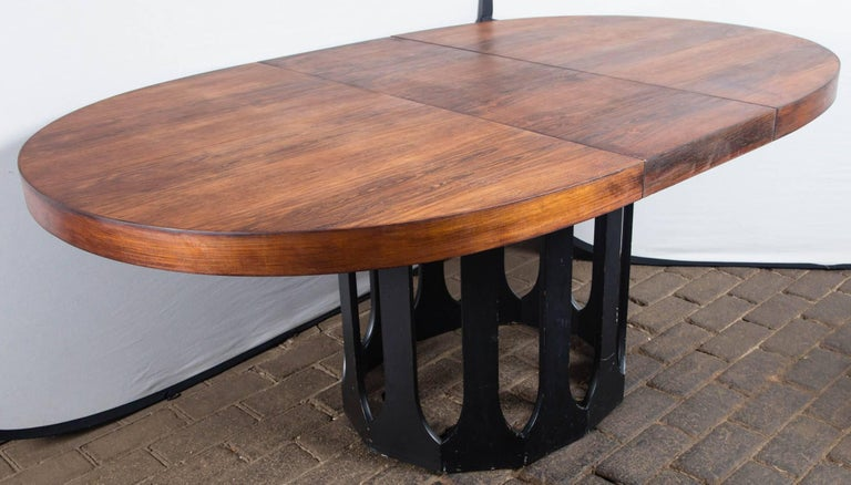 Harvey Probber Dining Table with Two Leaves For Sale 2