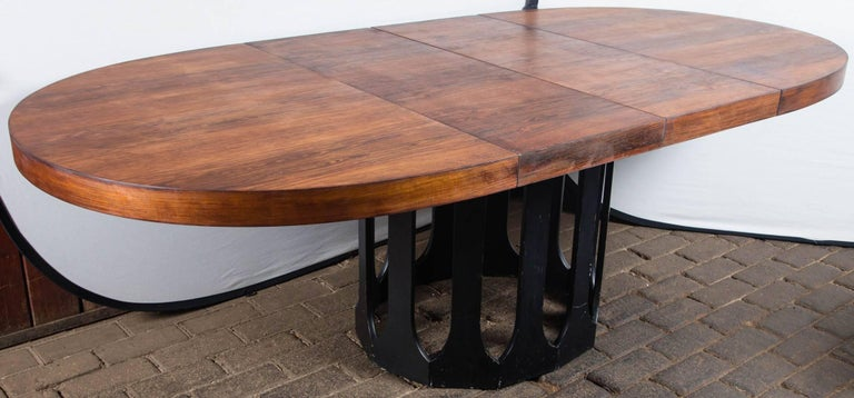 Harvey Probber Dining Table with Two Leaves For Sale 3
