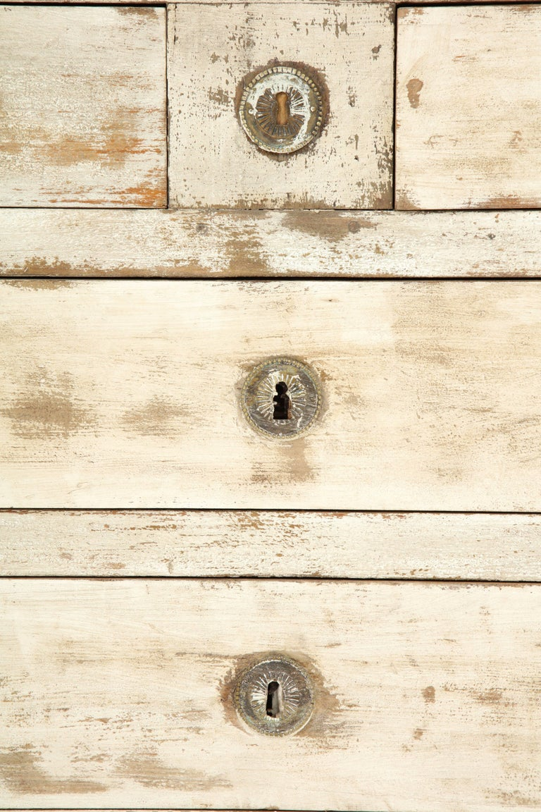 19th Century French Painted Chest For Sale 2