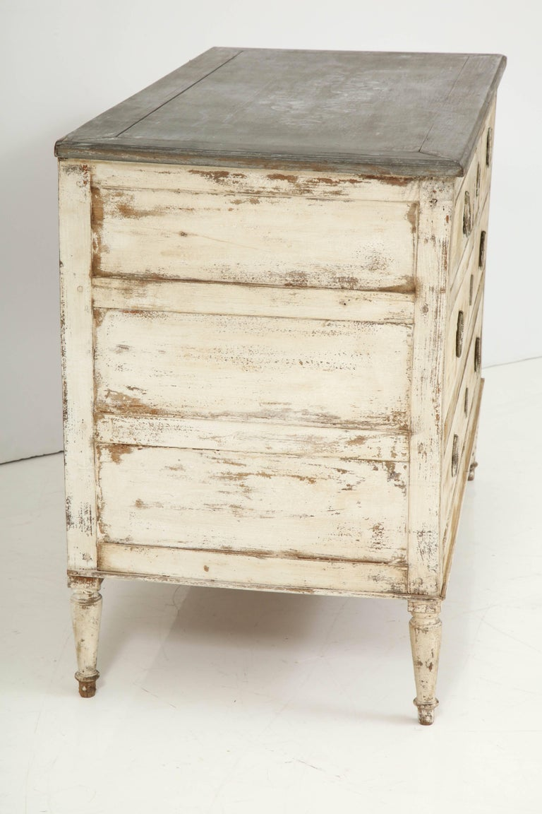 19th Century French Painted Chest For Sale 5