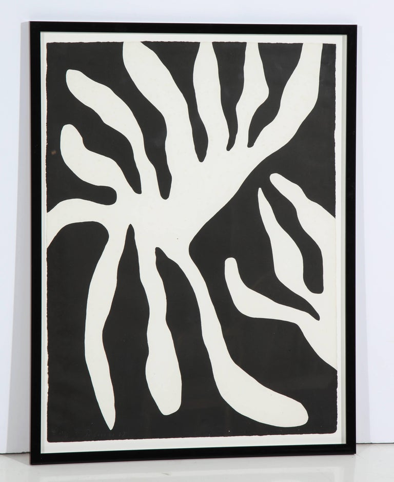20th Century Abstract Screen-Print For Sale