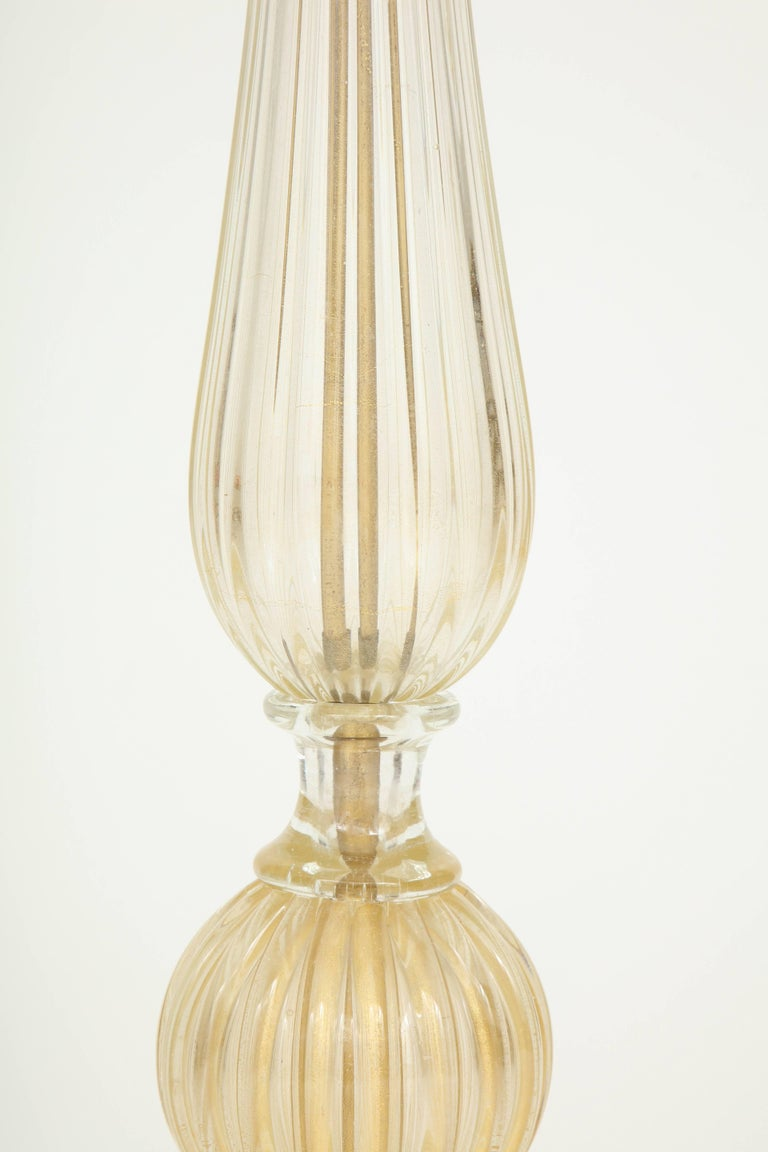 20th Century Murano Glass Floor Lamp For Sale