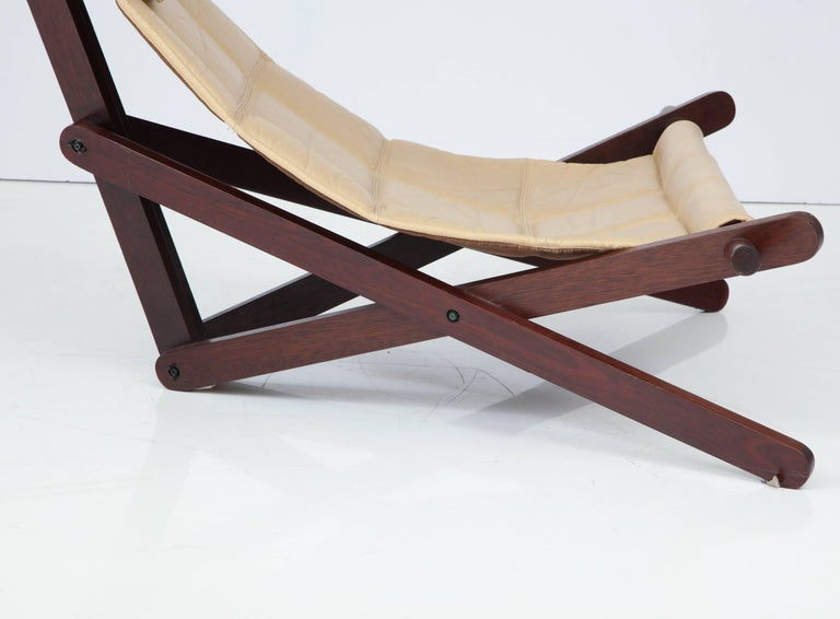 Mid-Century Modern Sail Chair by Dominic Michaelis For Sale