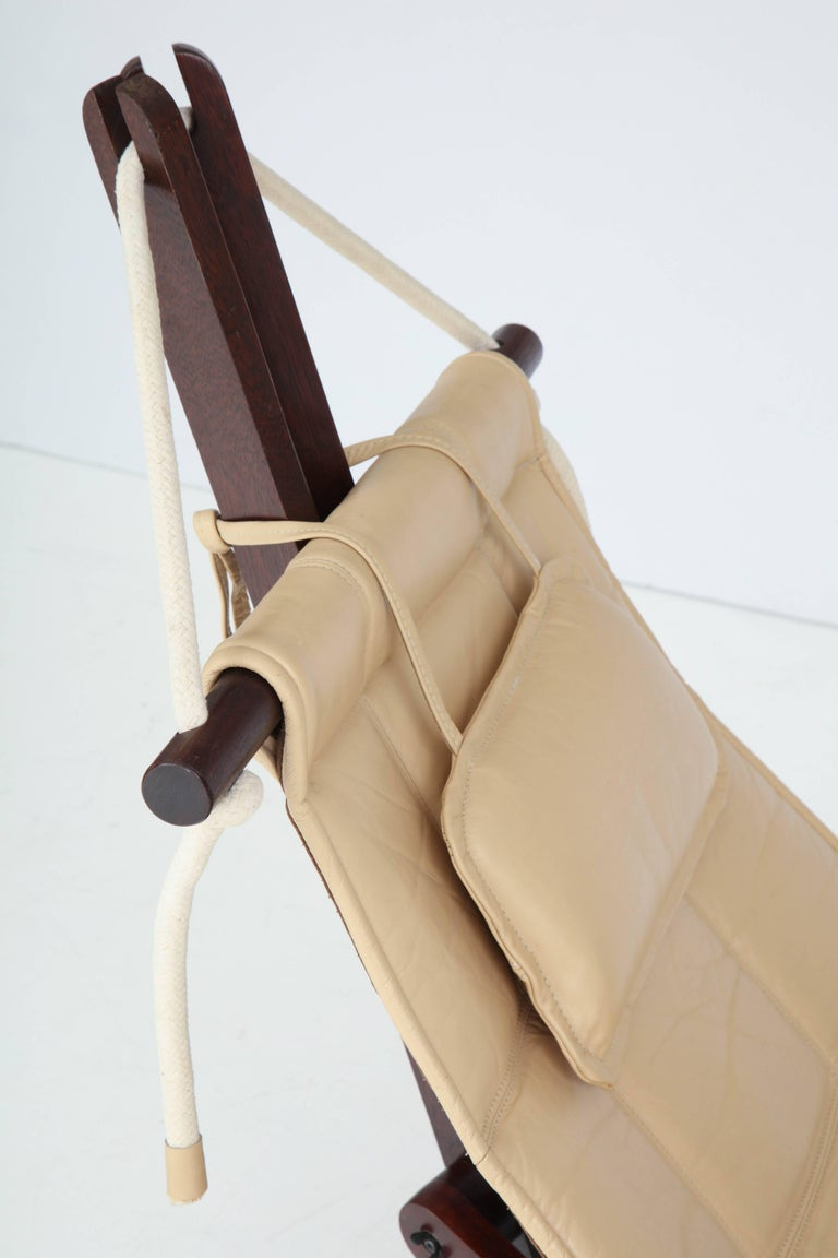 Brazilian Sail Chair by Dominic Michaelis For Sale