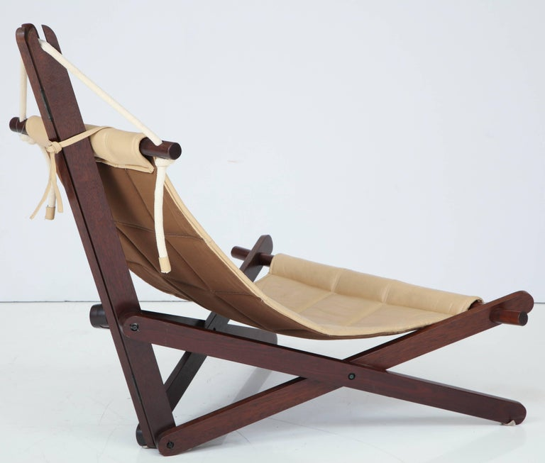 Late 20th Century Sail Chair by Dominic Michaelis For Sale