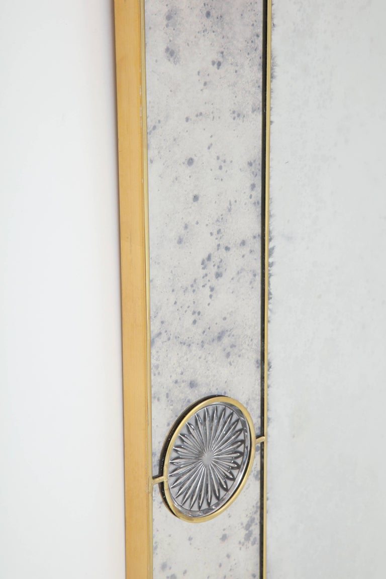 Art Deco Mirror, Handcrafted For Sale