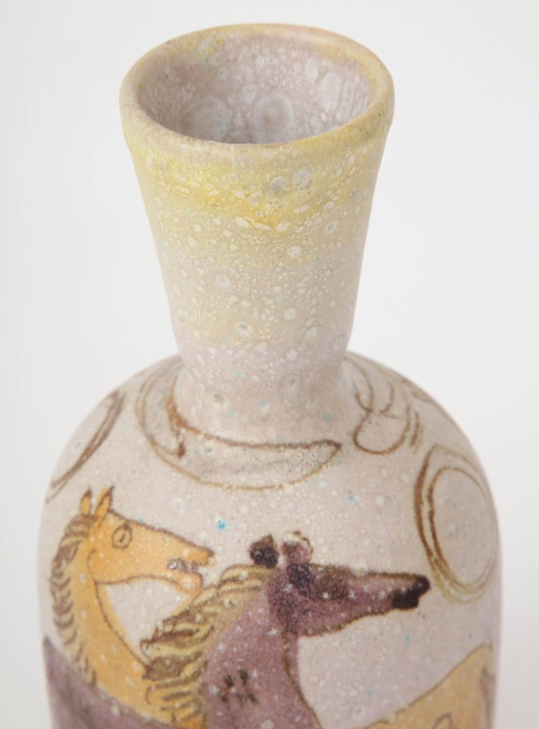 Ceramic Vase by Guido Gambone, Italy, circa 1950 For Sale 2