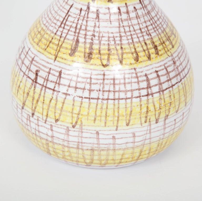 Italian Ceramic Vase, Italy, circa 1950 For Sale