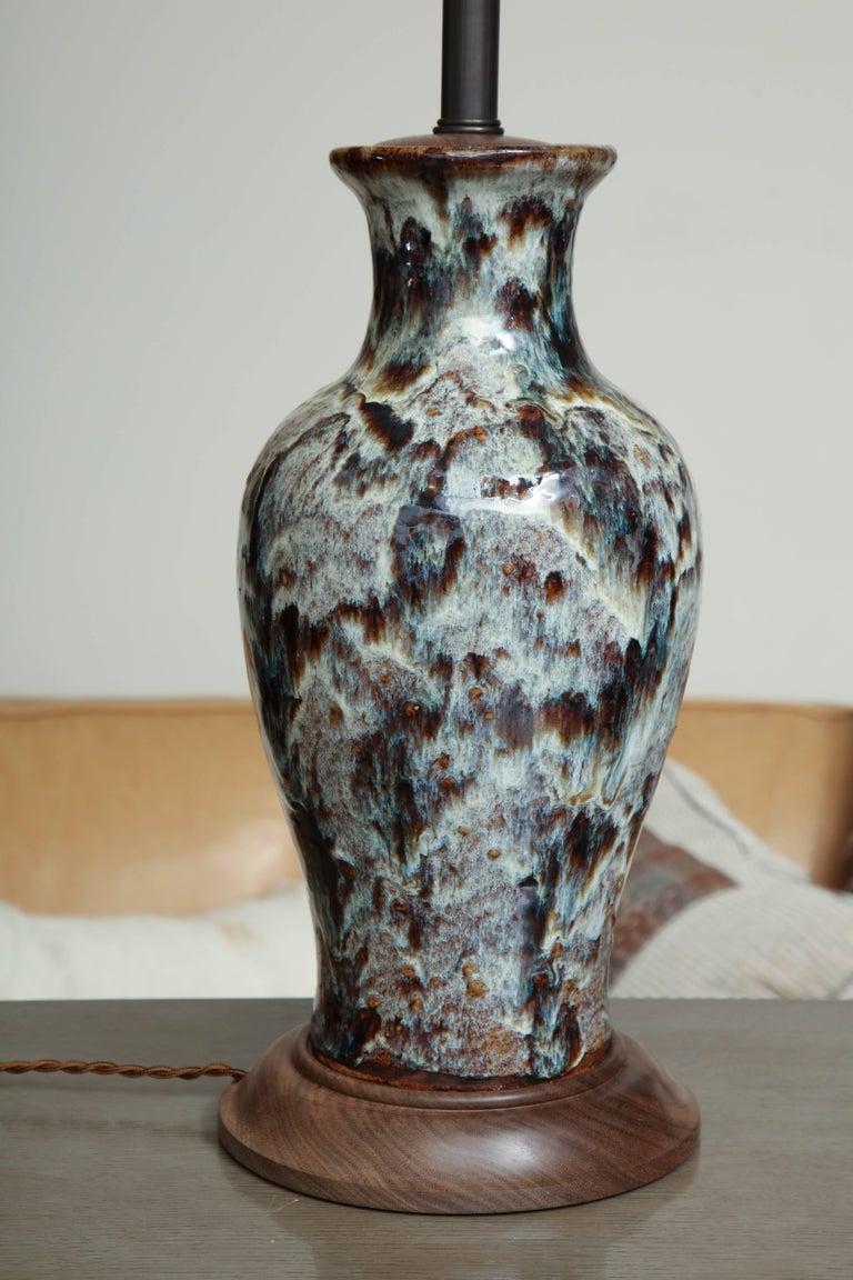 Jun Ware Lamp For Sale 4