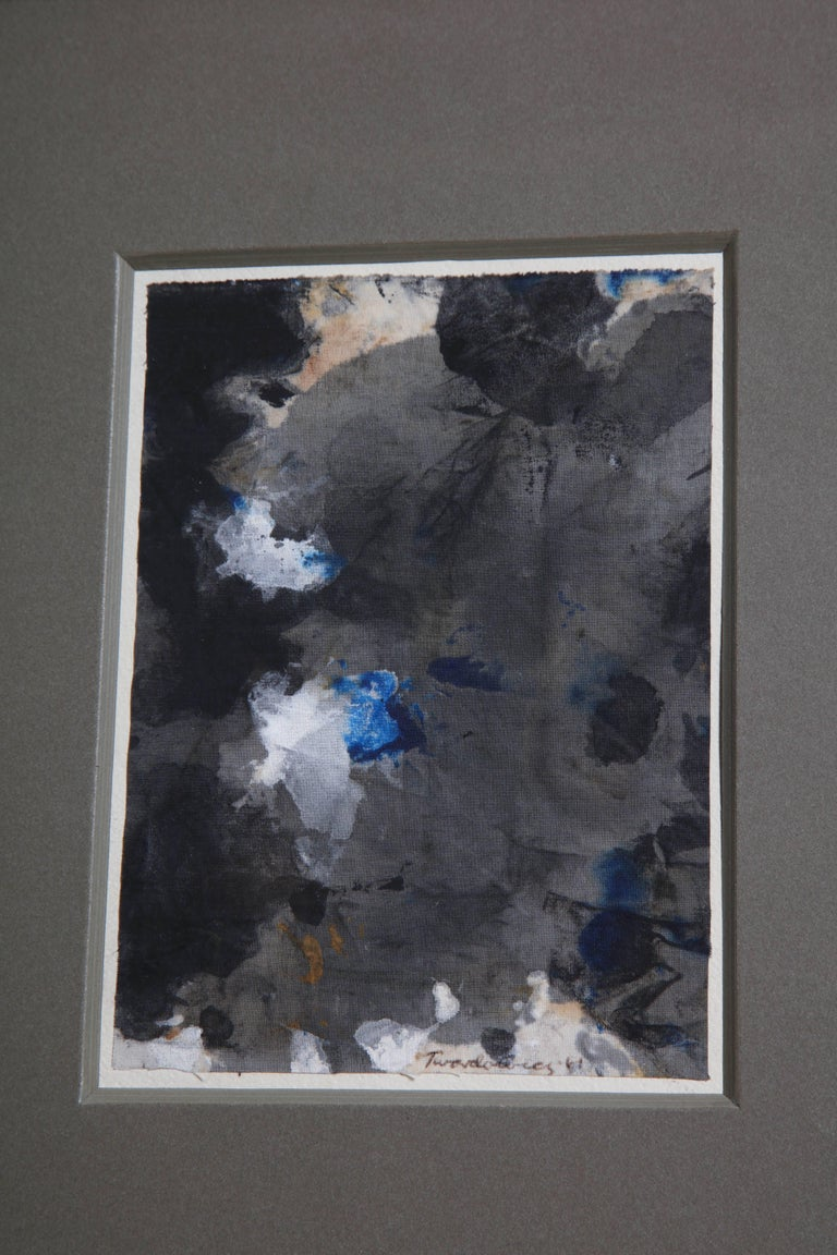 Abstract Painting In Good Condition For Sale In New York, NY