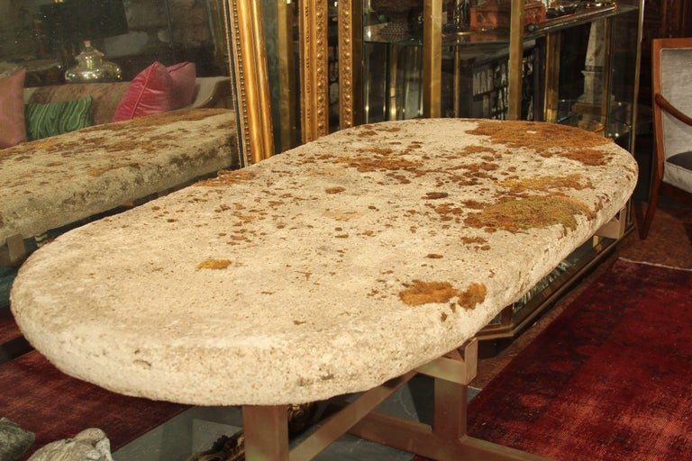 English Cast Stone Top Table For Sale 4