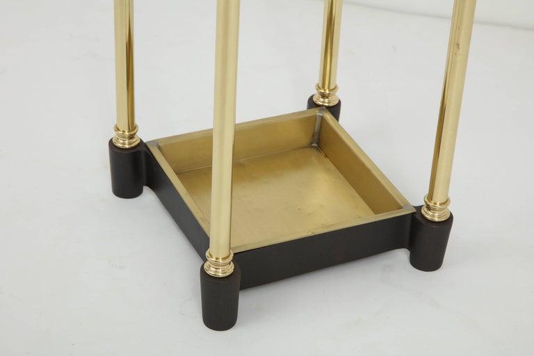 Art Deco Brass Umbrella Stand For Sale 2