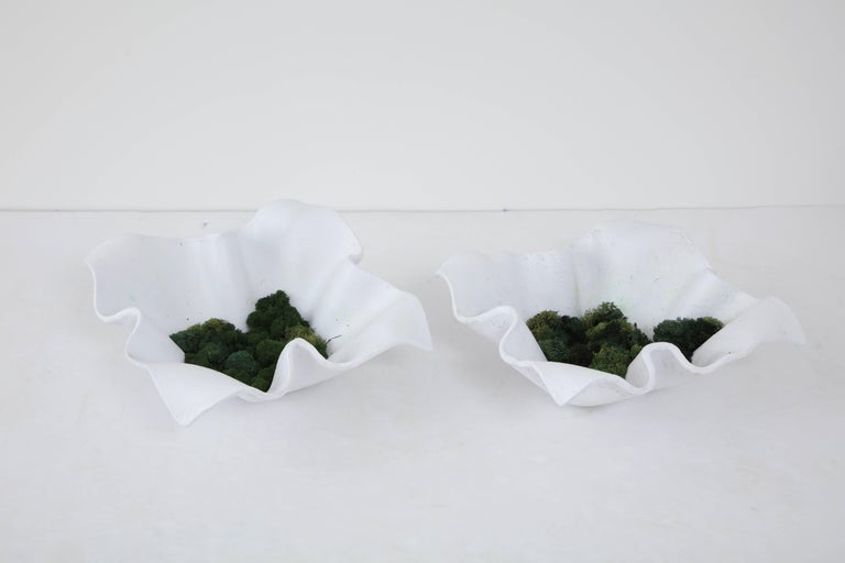 Swiss 1960s Pair of Willy Guhl Handkerchief Planters For Sale