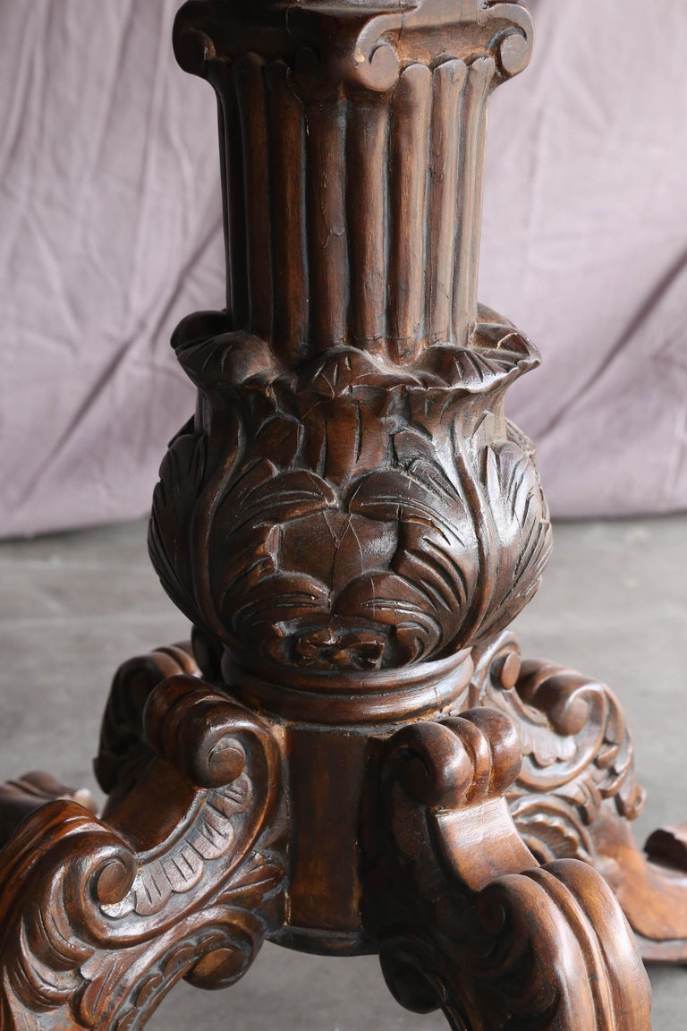Victorian Style Custom Made Ornate Carved Wedding
