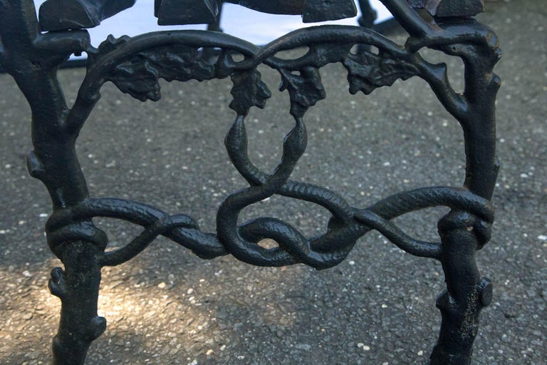 Wrought Iron Twig Form Bench For Sale 3