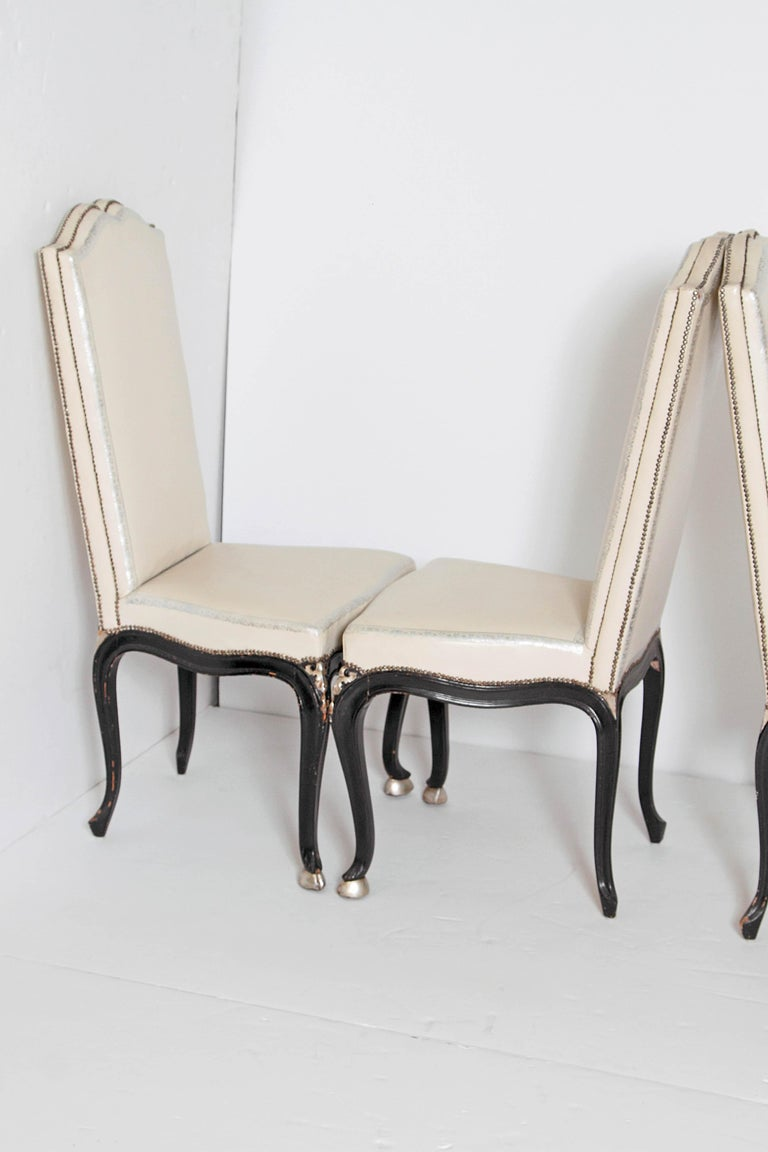 20th Century Louis XV Style Set of 12 Dining Chairs For Sale
