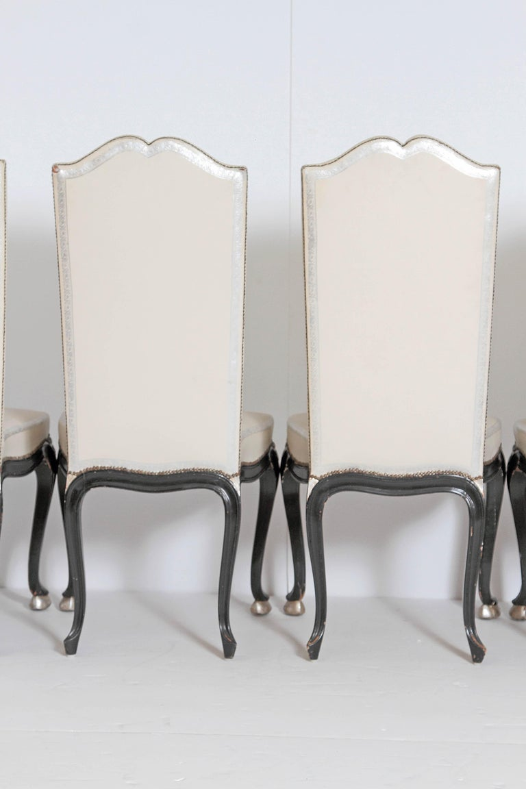 Louis XV Style Set of 12 Dining Chairs For Sale 1