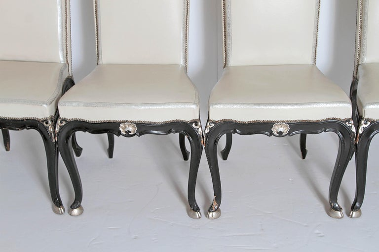 Louis XV Style Set of 12 Dining Chairs For Sale 4