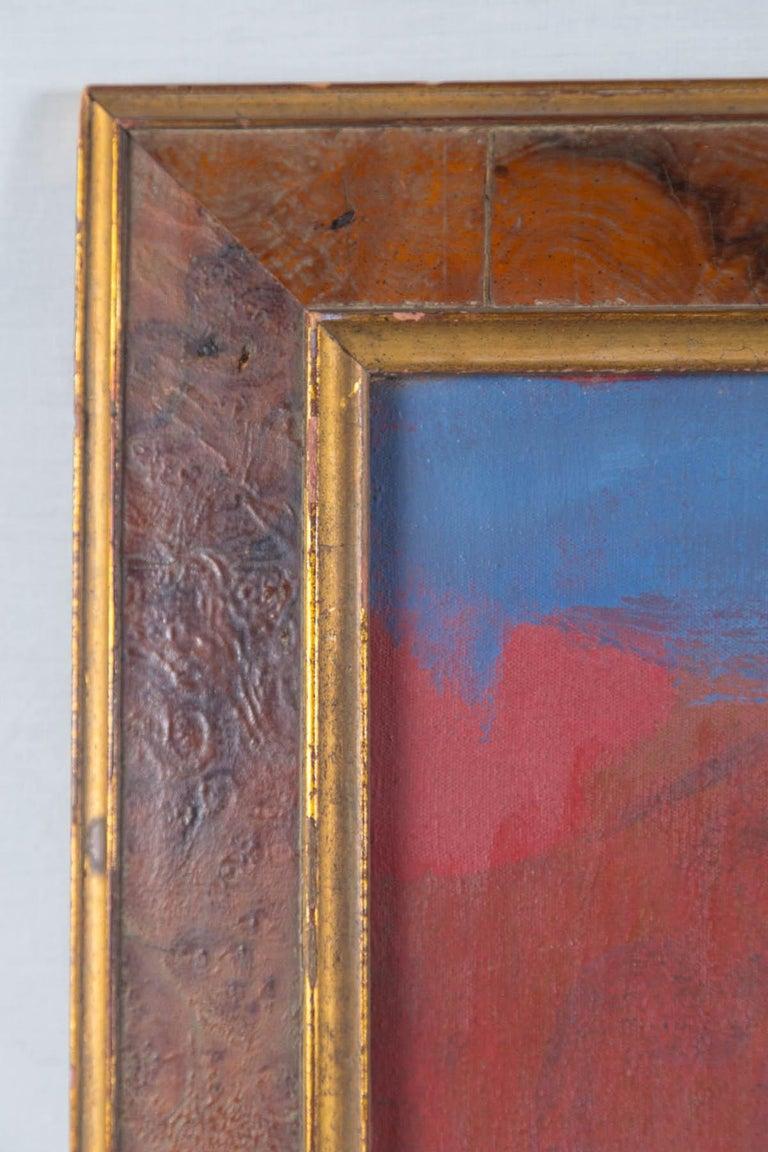 Artist Elsa Schachter born 1912, oil on canvas,