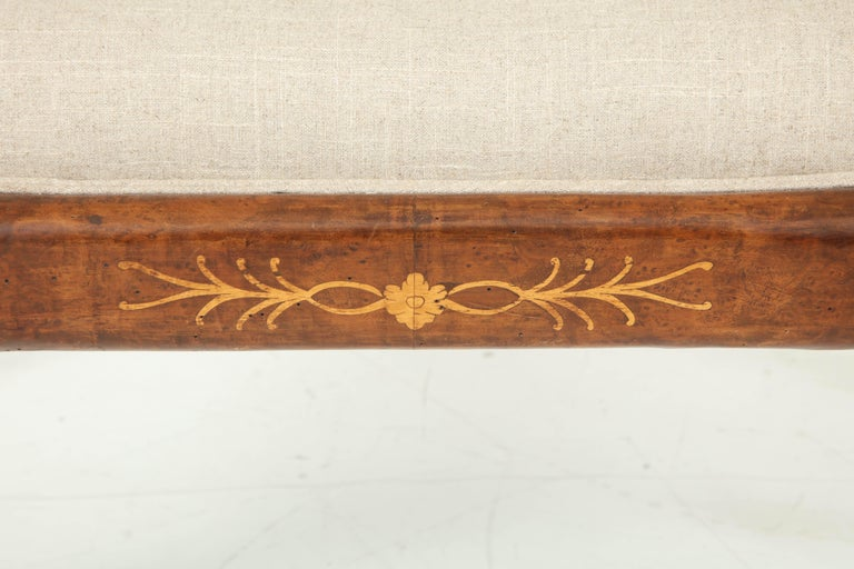 Pair of Biedermeier Benches For Sale 1