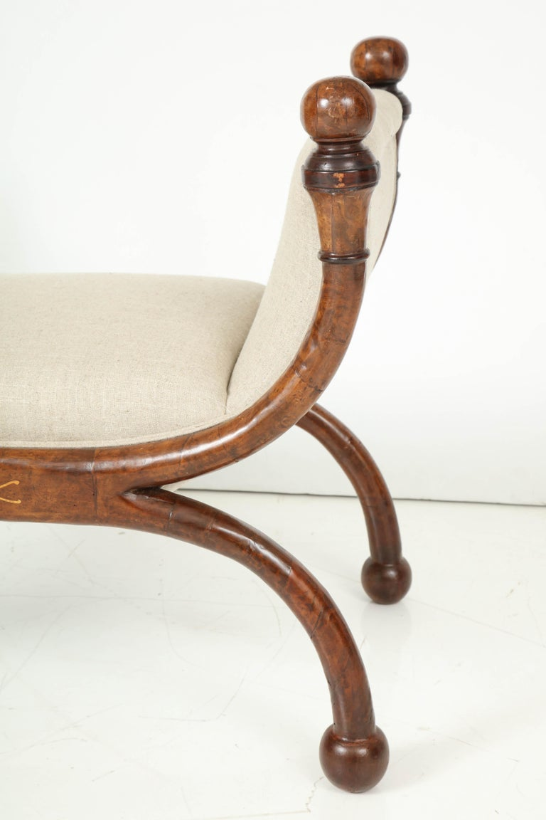 Pair of Biedermeier Benches For Sale 2
