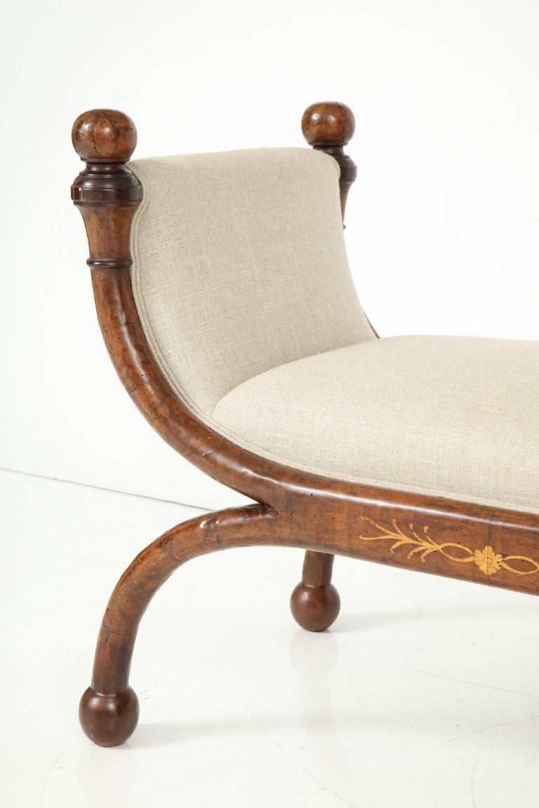 Pair of Biedermeier Benches For Sale 4