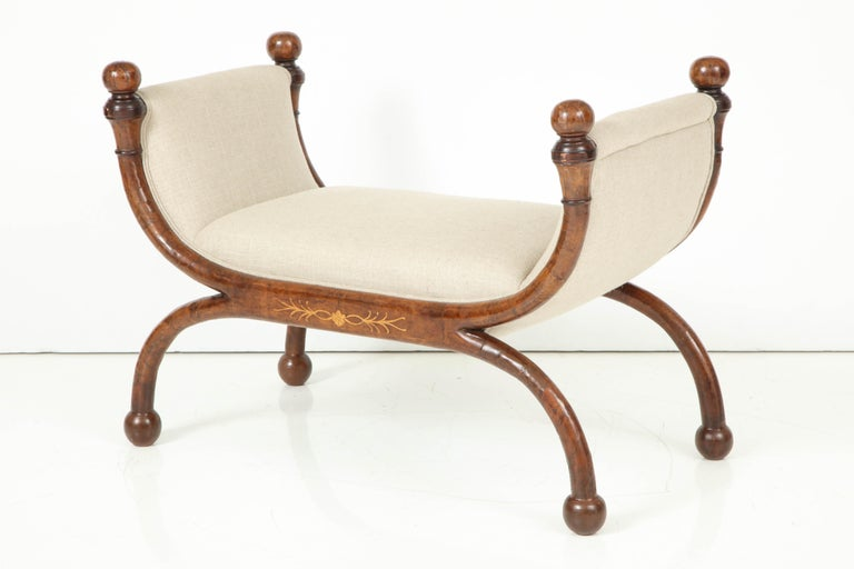 Pair of Biedermeier Benches For Sale 7